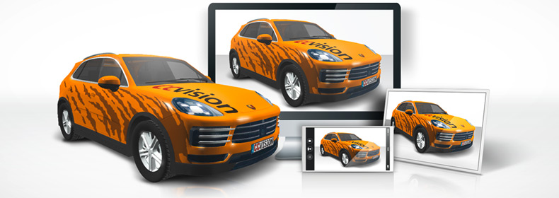 Ccvision Vehicle Outlines Car 3d Online Presentation