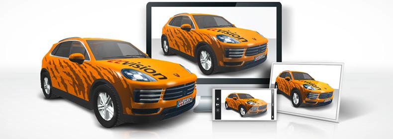 ccvision: Vehicle outlines » CAR 3D: Online presentation